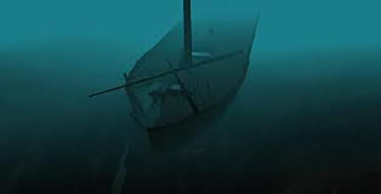 Shipwreck Under Water
