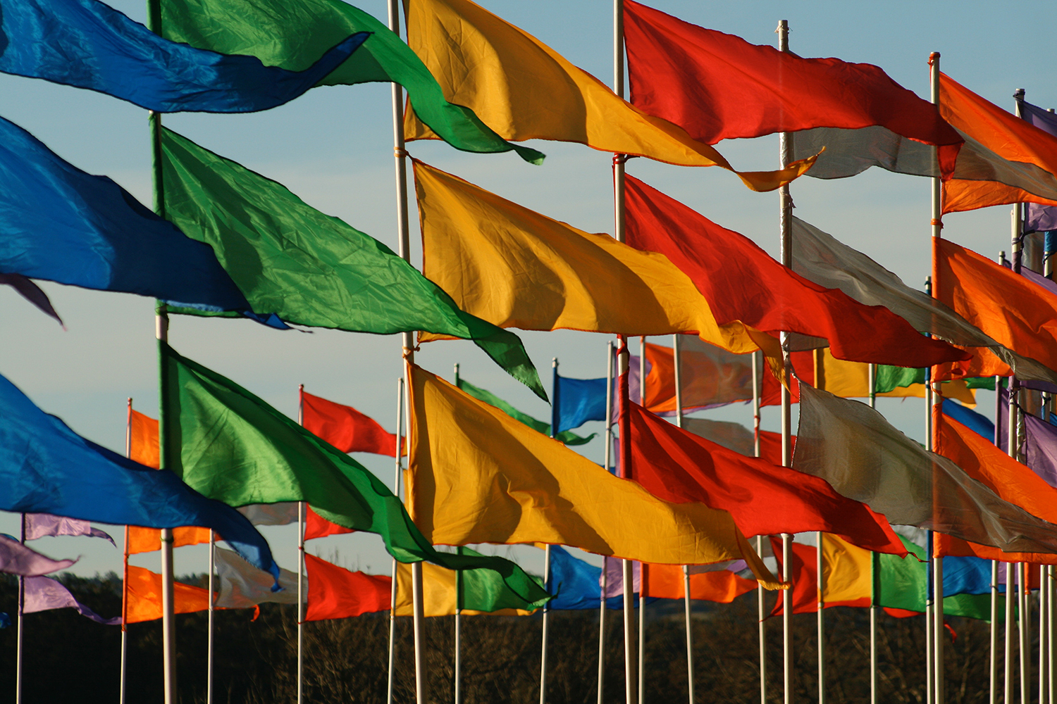 Flags That Generate Energy